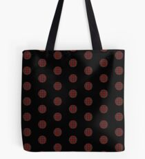 Plaid polka dots Tote Bag