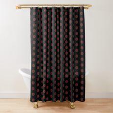 Plaid polka dots Shower Curtain