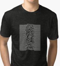 Joy Division - Unknown Pleasures Tri-blend T-Shirt