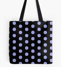 Gingham Polka Dots Tote Bag