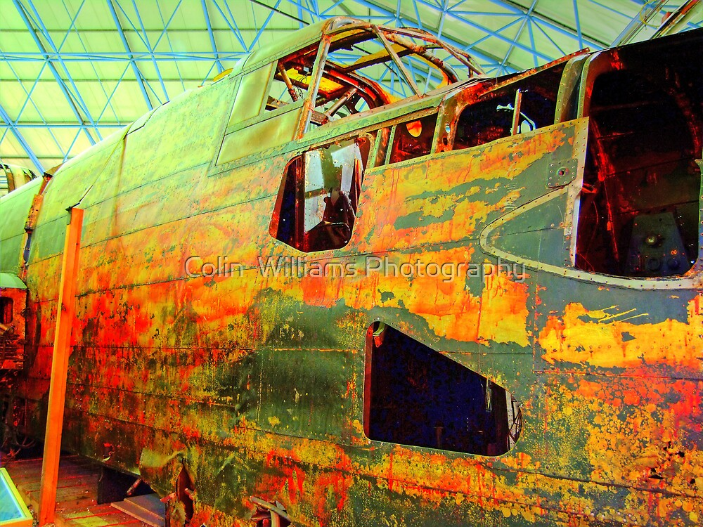 Halifax W1048 TL-S Wreck - HDR by Colin  Williams Photography