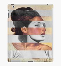 Delacroix's Orphan Girl at the Cemetery & Sophia Loren iPad Case/Skin