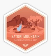Satori Mountain National Park Sticker
