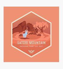 Satori Mountain National Park Photographic Print