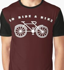 Go Ride A Bike Graphic T-Shirt