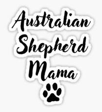 Pegatina Australian Shepherd Mama