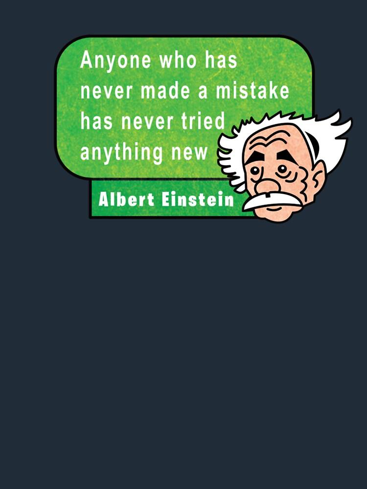 Einstein Motivation Inspiration Quote de Maljonic