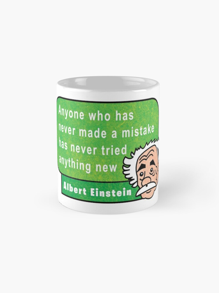 Vista alternativa de Taza Einstein Motivation Inspiration Quote