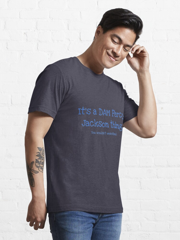 Alternate view of A Dam Percy Jackson Thing Essential T-Shirt