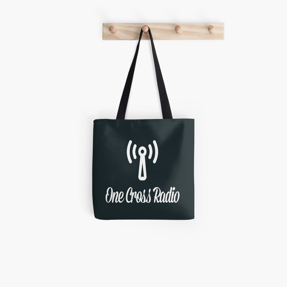 OCR Black Tote Bag