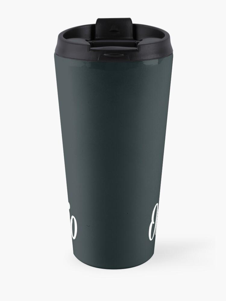 Alternate view of OCR Black Travel Mug