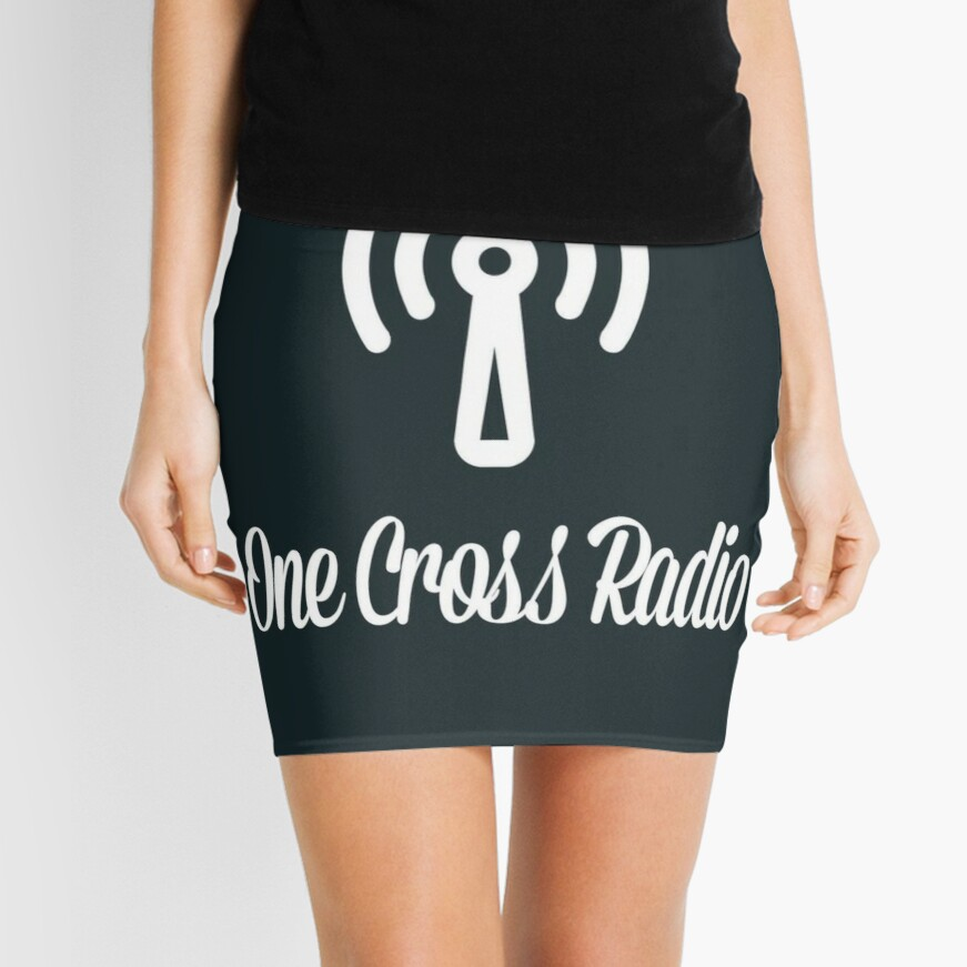 OCR Black Mini Skirt