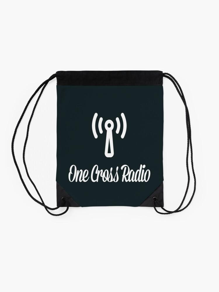 Alternate view of OCR Black Drawstring Bag