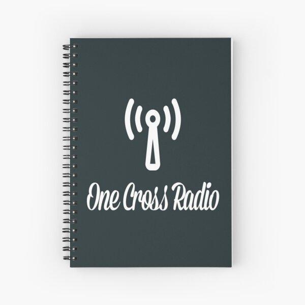 OCR Black Spiral Notebook