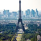 Eiffel Tower  -  Tour Eiffel by Buckwhite