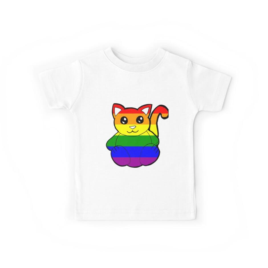 Regenbogen Katze von KaylinArt