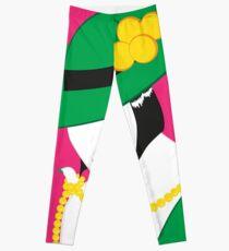 Madame - Grün und Pink Leggings