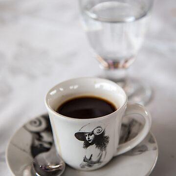 Cuba. A Cup of Black Cuban Coffee. by vadim19