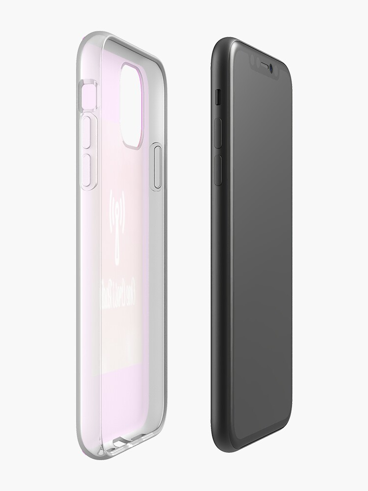 Alternate view of OCR Pink iPhone Case & Cover