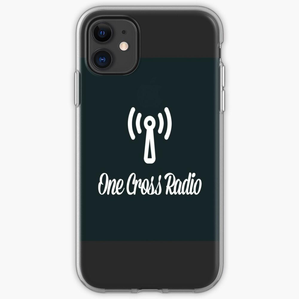 OCR Black iPhone Case & Cover