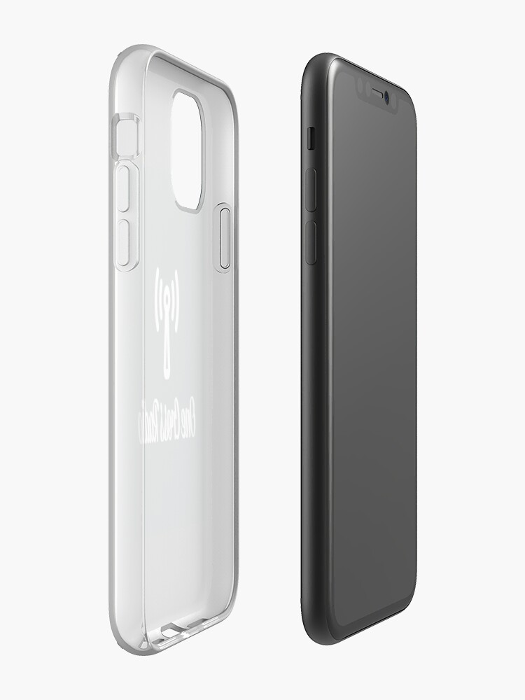 Alternate view of OCR Black iPhone Case & Cover