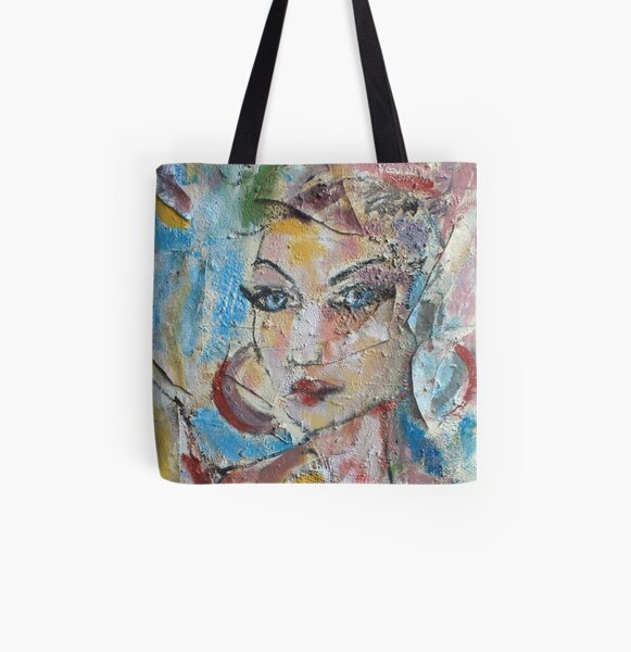 Rosalyn  All Over Print Tote Bag