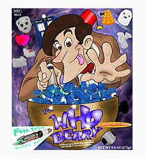 Dr. Who Berry Photographic Print