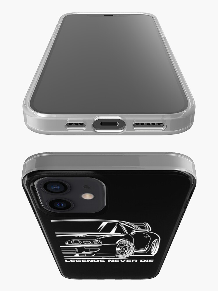 Alternate view of MK4 Suprа, 2JZ GTE, JDM, Racecar, Car Lover, Car Guy, Car Fan, Car Enthusiast, Gearhead, Petrolhead, JDM Lover Gift iPhone Case & Cover