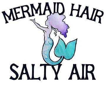 Mermaid hair salty air by Boogiemonst