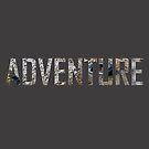 Adventure Creek Word Print by cyrenekrey