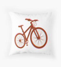 Bicycle Bike Saddle Freedom Leisure Throw Pillow