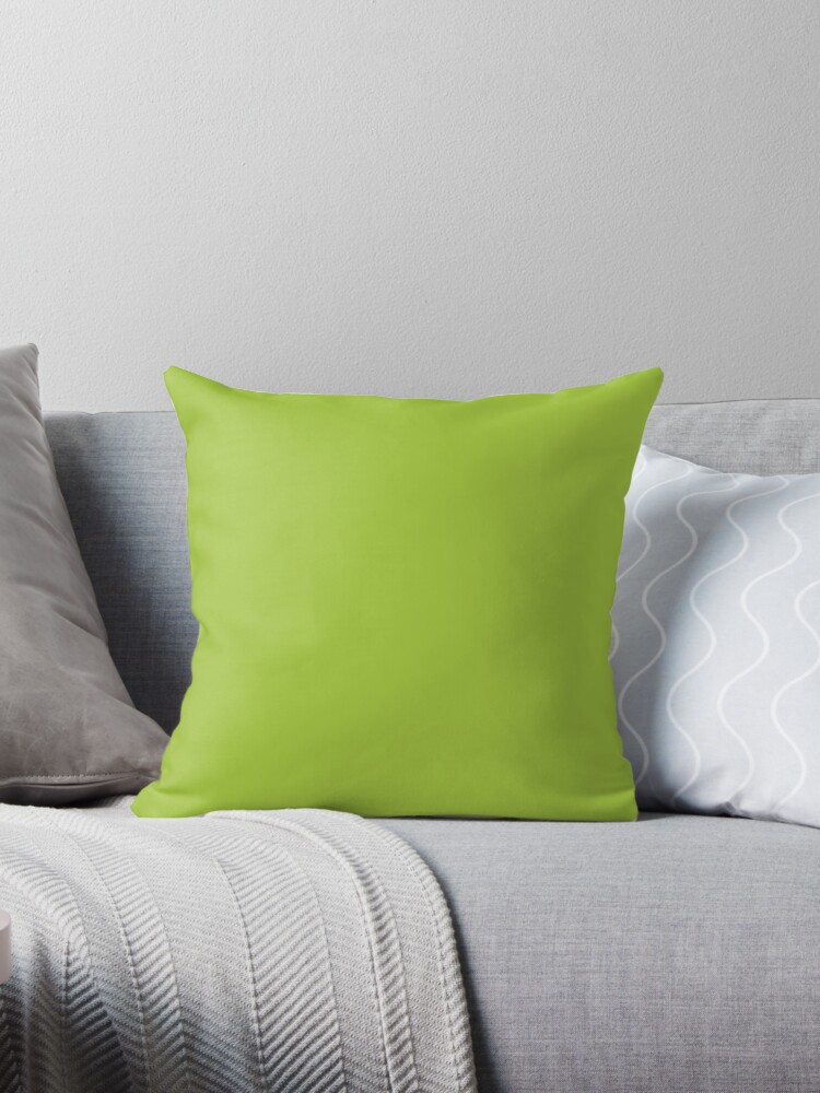 Beautiful Cushions/ Plain Android Green by ozcushions