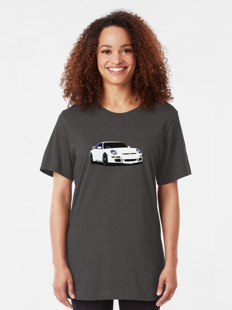 Alternate view of Shift Shirts Second Coming- 997 GT3 Inspired Slim Fit T-Shirt