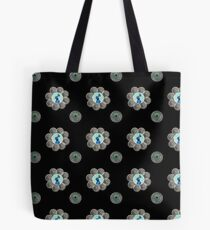 Peacock swirls Tote Bag