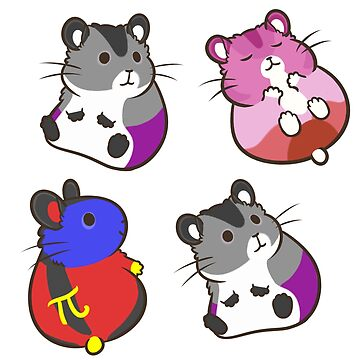 Pride Hamsters set 5 by pawlove