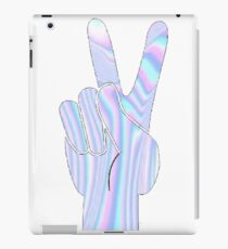 Holographic Peace Hand iPad Case/Skin