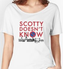 SCOTTY DOESN'T KNOW Women's Relaxed Fit T-Shirt