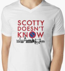 SCOTTY DOESN'T KNOW Men's V-Neck T-Shirt