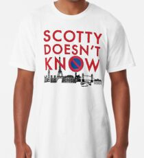 SCOTTY DOESN'T KNOW Long T-Shirt
