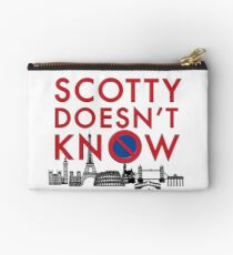 SCOTTY DOESN'T KNOW Studio Pouch