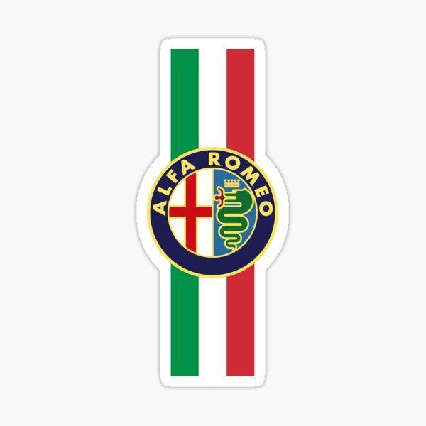 Alfa Romeo Italy stripe Sticker