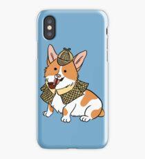 Sherlock Corgi  iPhone Case