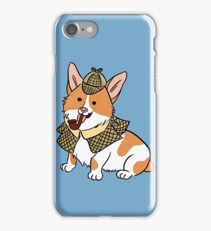 Sherlock Corgi  iPhone Case/Skin