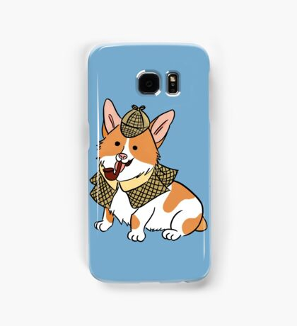 Sherlock Corgi  Samsung Galaxy Case/Skin