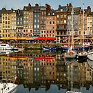 Honfleur France Harbor by DARRIN ALDRIDGE