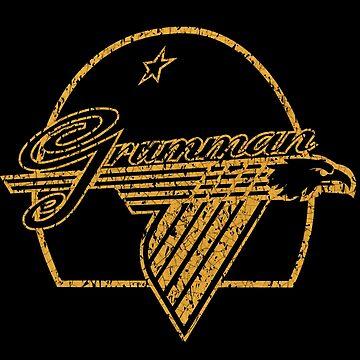 Vintage Grumman Logo by midcenturydave