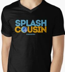 Splash Cousin Men's V-Neck T-Shirt