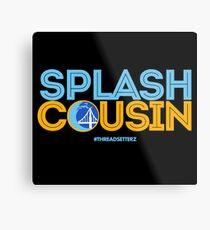 Splash Cousin Metal Print