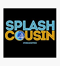 Splash Cousin Photographic Print