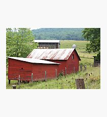 Country Farm Photographic Print